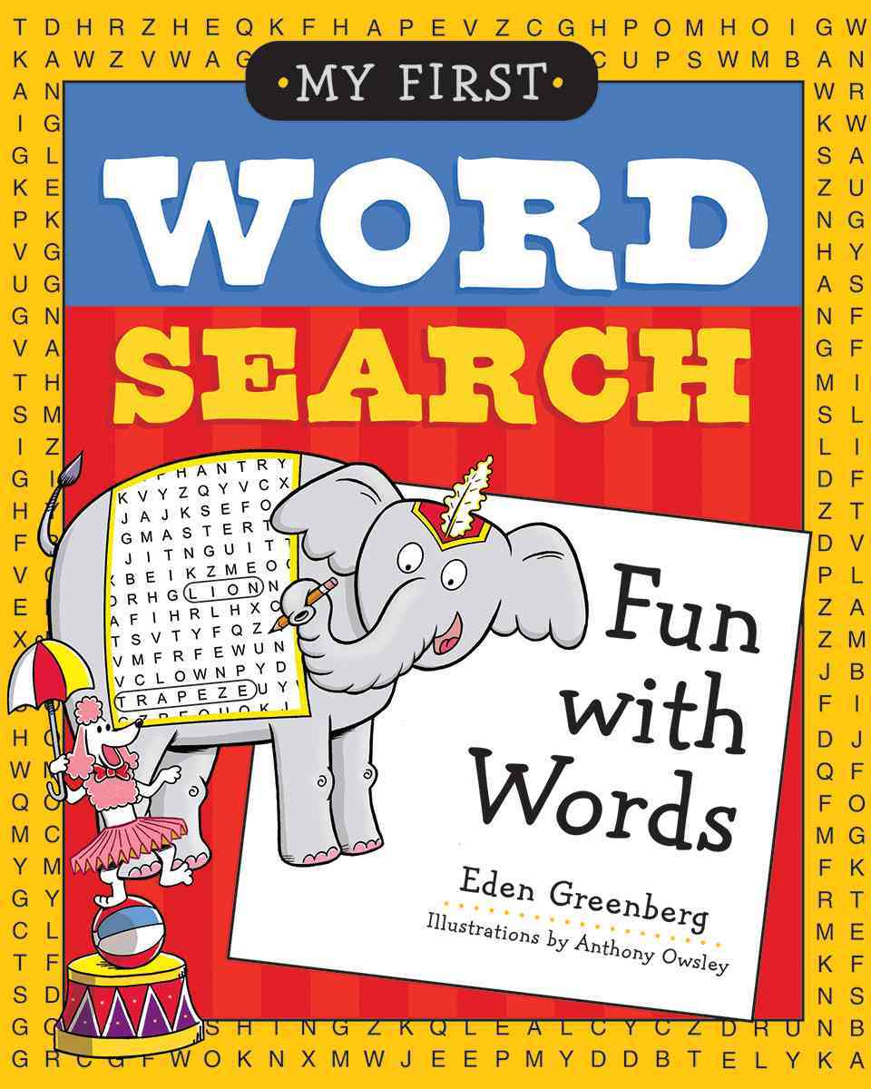 My First Word Search: Fun with Words By Greenberg, Eden/ Owsley, Anthony (ILT)